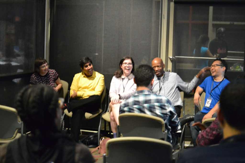 A panel discussion on self-publishing